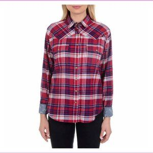 JACHS GIRLFRIEND WOMEN STRETCH LIGHT FLANNEL SHIRT